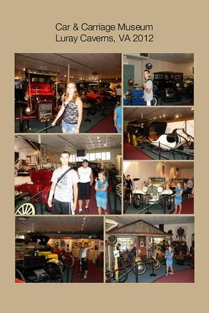 VA, Luray Caverns - Car & Carriage Museum
