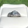 1.11ct Old European Cut Diamond Filigree Ring 37