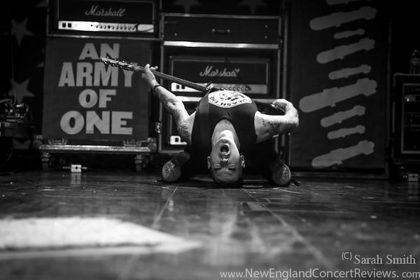 Anti - Flag at The House of Blues - Boston MA