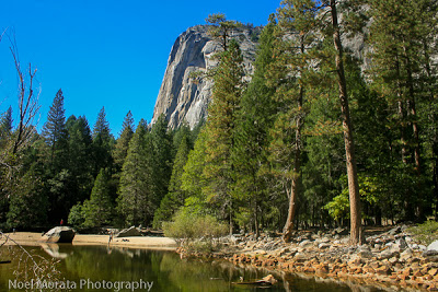 Mirror Lake is a fun hiking trail in Yosemite National Park