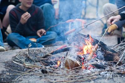 2011-04 Scout Campout Burraston Ponds