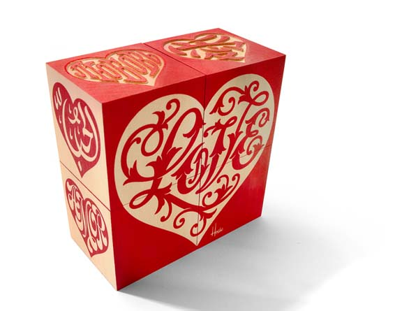 . The international language of love indeed. These blocks ($20) spell the word �love� in 12 languages at Walker Art Center (1750 Hennepin Ave., Minneapolis; 612-375-7633; walkerart.org).