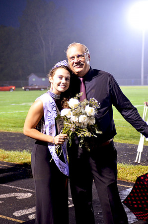 Crowning of UCHS 2019 Fall Homecoming Queen 9-6-2019
