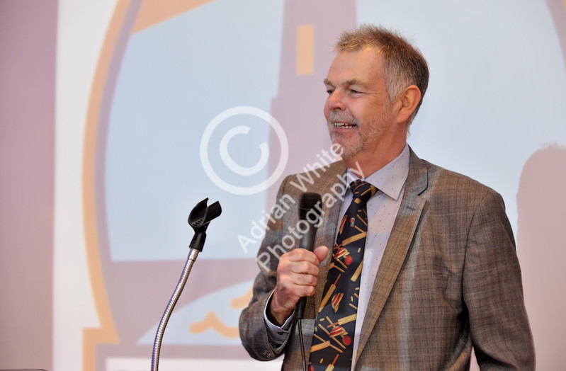 SWANSEA / Copyright Adrian White Friday 20th January 2017 SOCIETY PIX for the Mumbles Cricket Club Annual Dinner at The Marriot Hotel. Former Essex and England cricketer and guest speaker for the night Geoff Miller. BYLINE www.click4prints.com