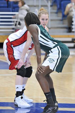 Holy Trinity vs St. Johns Girls Varsity Basketball 3-4-08