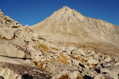 Mt. Brewer 13,570' & South Guard 13,232', October 2017