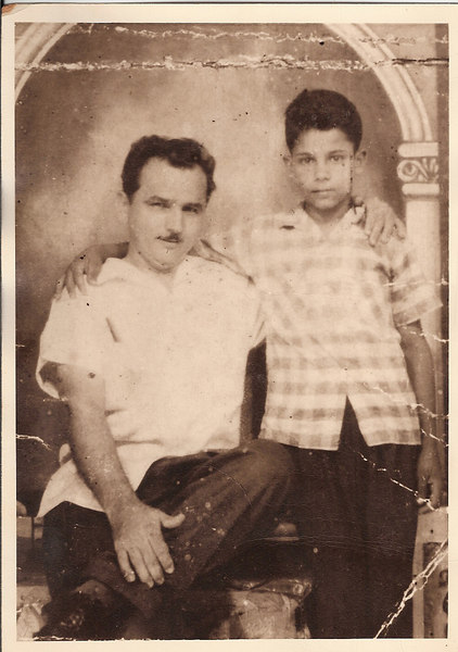 Dad at age 12 with his dad