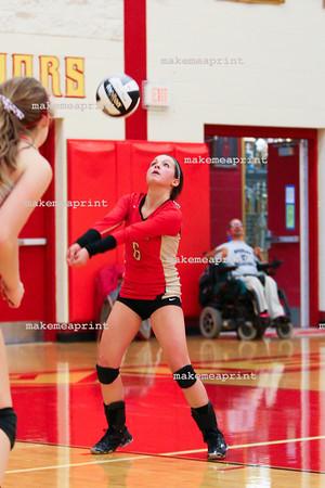 Varsity Volleyball v Woodlan