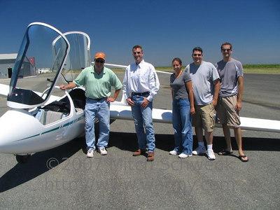 Gliding in Williams, CA