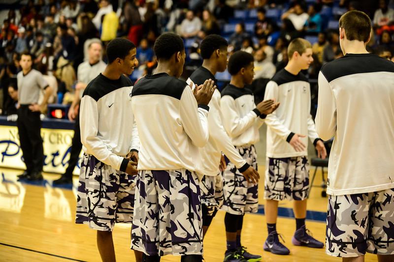 Basketball Varsity vs  Crowley 12-11-13-13