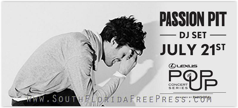 Passion Pit - Pandora Series DJ Set