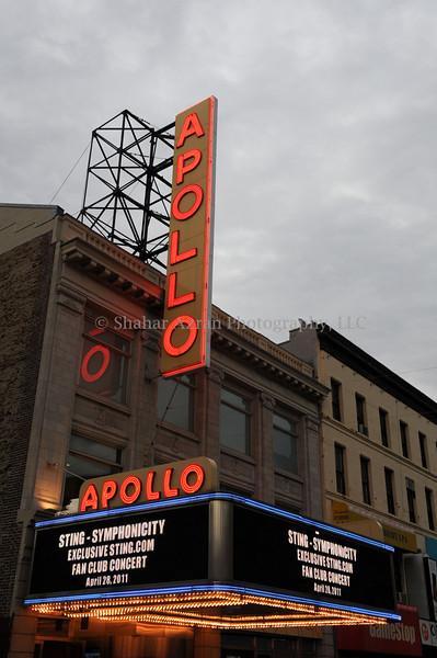 STING at Apollo Theater