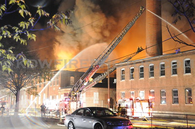 Pawtucket, RI - General Alarm - 125 Goff Ave - 10/14/10