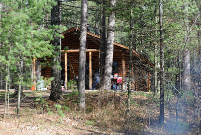 Tom's Lake Cabin, April 2012