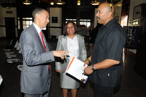 National CARES Mentoring Movement - Los Angeles Chapter Hosts Reception for National President Rustin M.Lewis