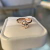 1.05ct Oval Cut Diamond Solitaire, GIA H SI1 11