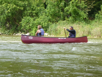 Saugeen River - Walkerton to 10th Conc. Sep 2012