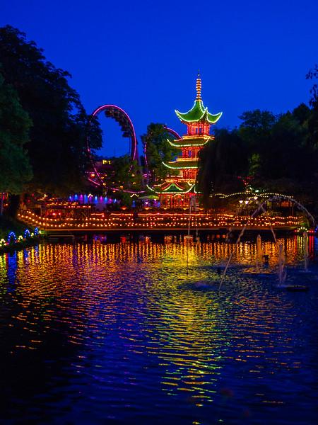Tivoli Gardens, the world's second oldest amusement park