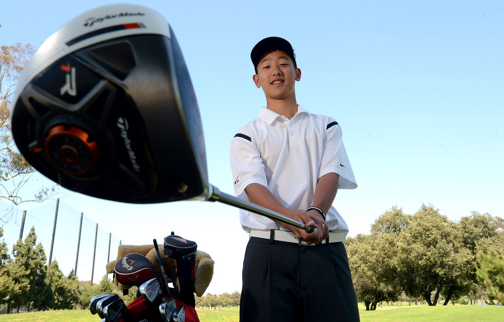 . Lakewood, Calif., -- 06-10-13-  All-Area Player of the Year Henry Chung, of Cerritos High School.    Stephen Carr/  Los Angeles Newspaper Group