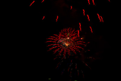 Calistoga County Fairgrounds  Fireworks 2016