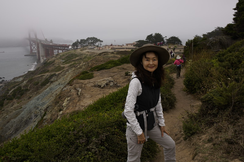 Hiking in the Marina, SF