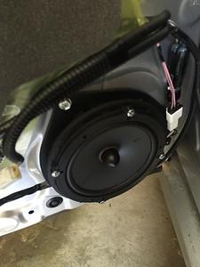 2013 Lexus GS350 Rear Door Speaker Installation - USA