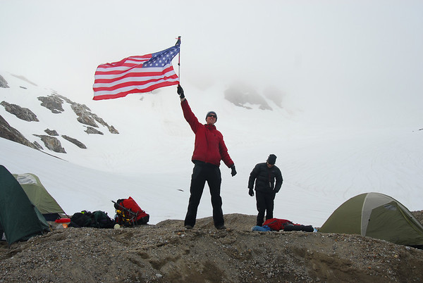 2010 Annual TJ Memorial Climb: Snowfield Peak, July '10