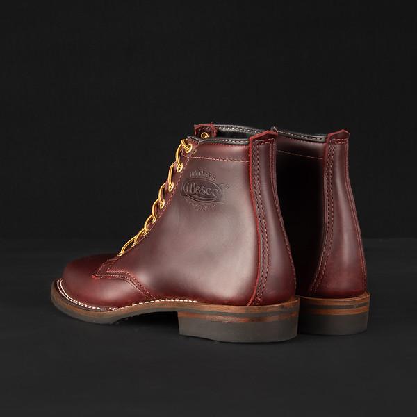 "Iron Heart Int'l x Wesco® - 7"" Black Tie Domain Toe Cap Boot--3.jpg"