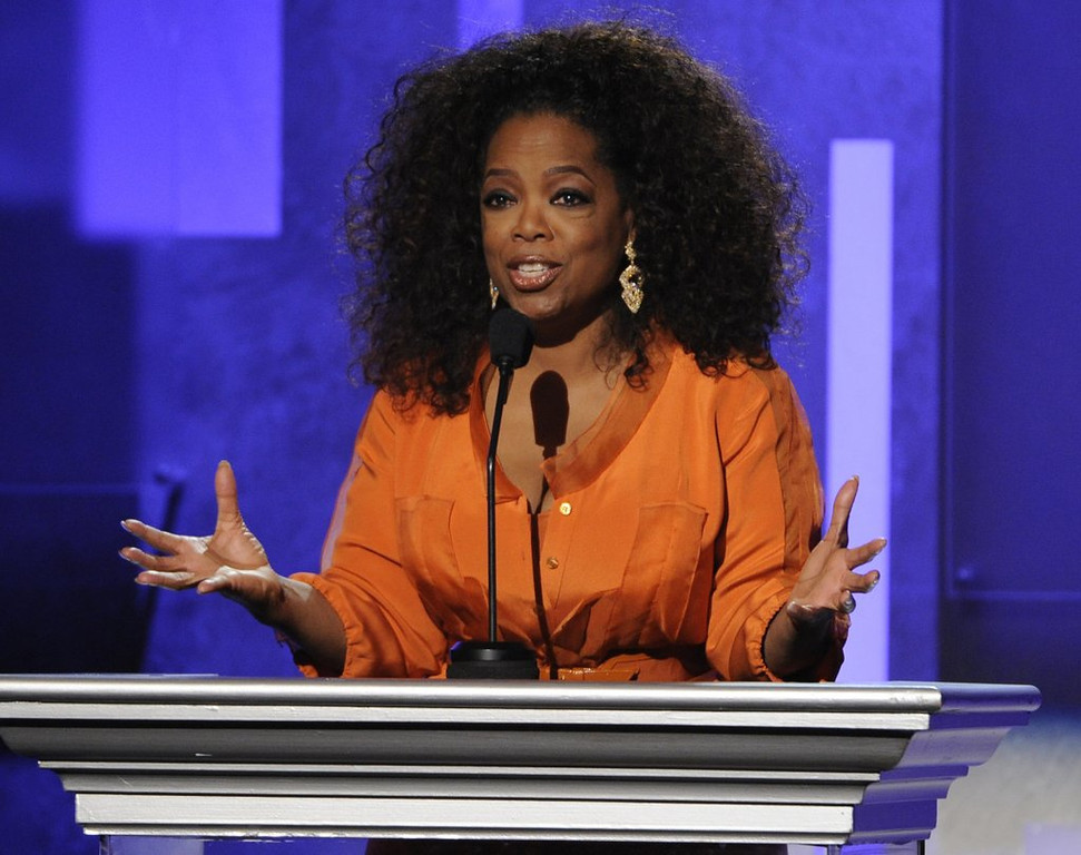". <p>9. OPRAH WINFREY <p>What IS the deal with Stedman? (2) <p><b><a href=\'http://www.nydailynews.com/entertainment/gossip/oprah-winfrey-stepmother-claims-left-homeless-article-1.1764680\' target=""_blank\""> LINK </a></b> <p>     (Chris Pizzello/Invision/AP, File)"