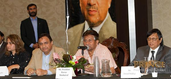 APML Dallas Chapter meeting with President Pervez Musharraf Cam2
