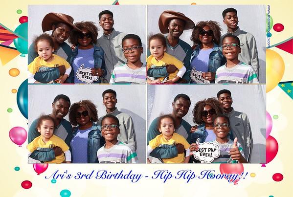 Ari's 3rd Birthday