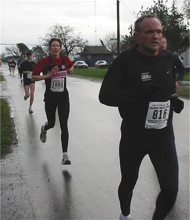 2003 Bazan Bay 5K - Bill Walker and Wendy Davies