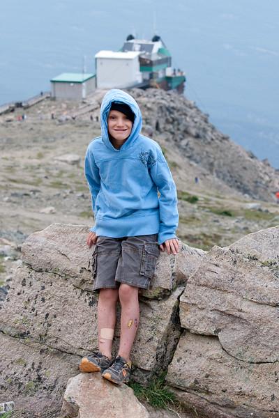 Henry on Whistlers Peak