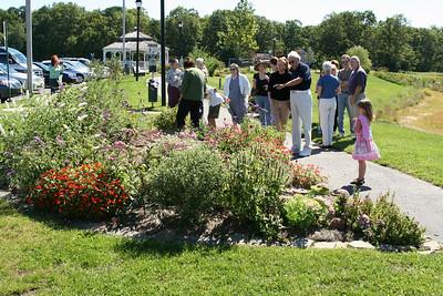 Dedication of UU Butterfly Garden 9-23-07