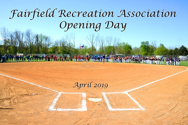 2019 Fairfield Baseball Opening