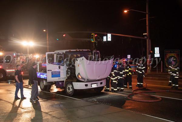 New Hyde Park Truck Fire 10/23/2020
