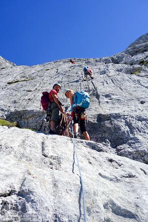 Abenteuerweg, Hohes Brett, Berchtesgaden