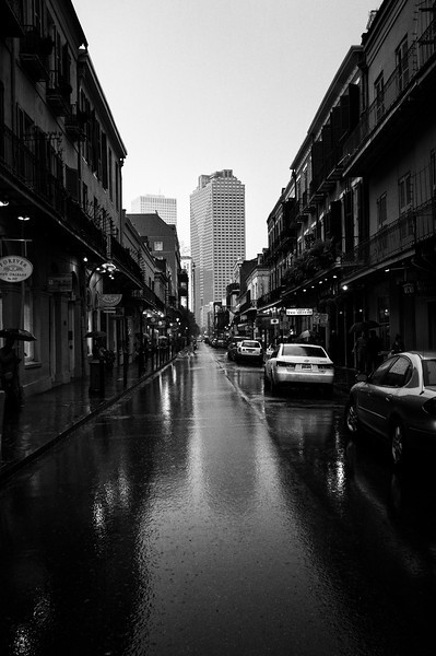 A Rainy Saturday Afternoon in The French Quarter