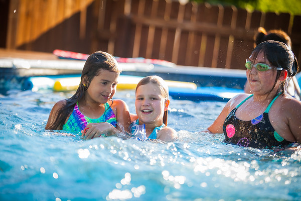 Girl Scouts Pool Party 2017
