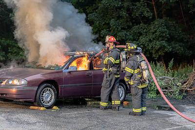 7-20-2021 Car Fire Drill