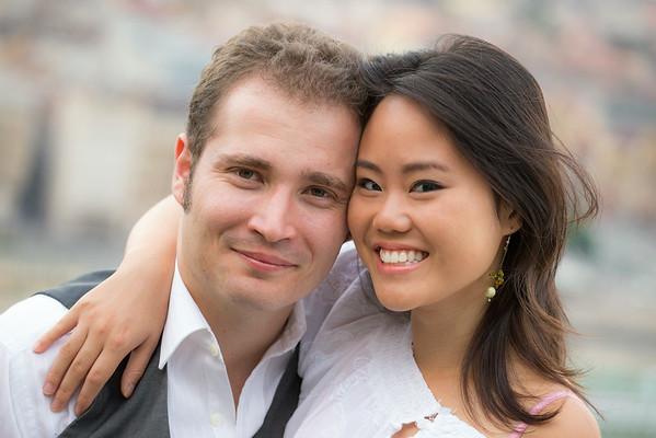 Kathy és Balázs jegyesfotózás