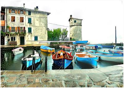 Garda Lake - Cassone Fantasy