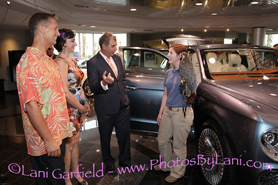 Bentley SUV unveiling at Desert European Motors 8/6/12