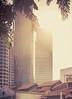 Skyscraper Sun Flare