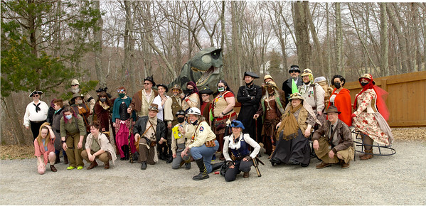 Silk City Steampunk at The Dinosaur Place