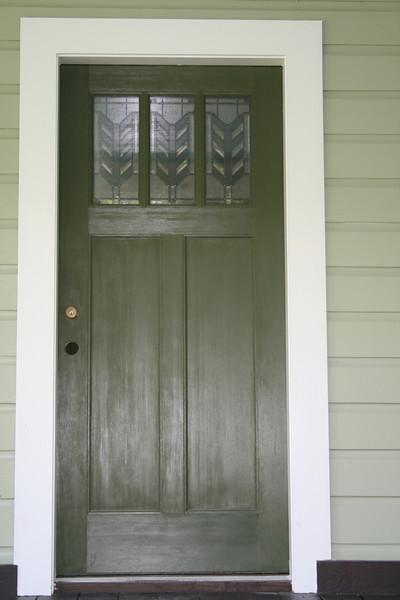 new front door august 2009