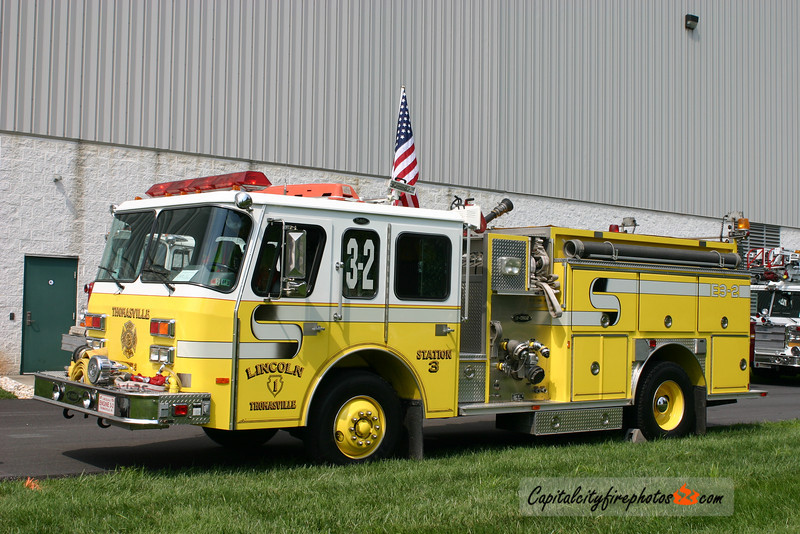 Thomasville Engine 3-2: 1991 E-One Protector 1250/750
