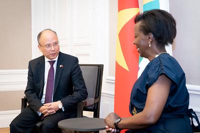SEM DINH Toan Thang, Représentant personnel du Président de la République Socialiste du Vietnam auprès de l'OIF - Paris