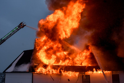 4 alarm Structure Fire - Runaway Brook Rd, Lancaster, Ma - 2/18/20