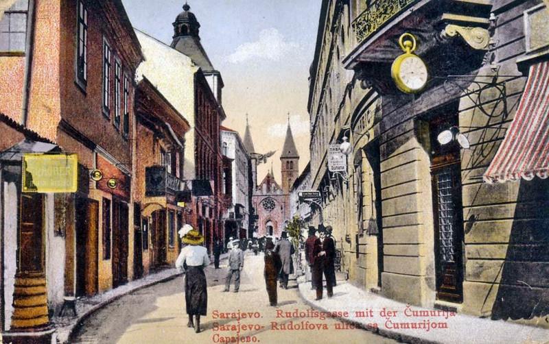 Današnja Štrosmajrova i Ćumurija početkom prošlog vijeka